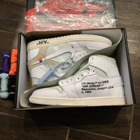 huge discount ad89d 77611 Air Jordan 1 Off White Brand New UA Size 10